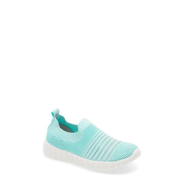 バーニーメブ レディース スニーカー シューズ Wylie Slip-On Sneaker Aqua Fabric