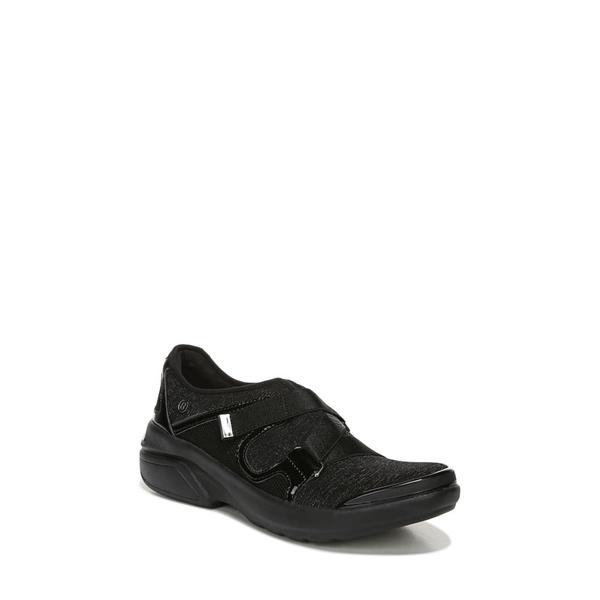 ビジーズ レディース スニーカー シューズ Offbeat Slip-On Sneaker Black Fabric