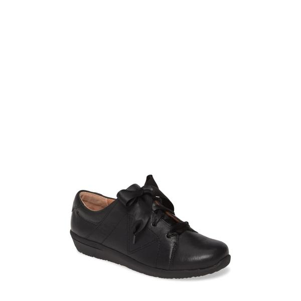バイオニック レディース スニーカー シューズ Lindsey Sneaker Black Leather