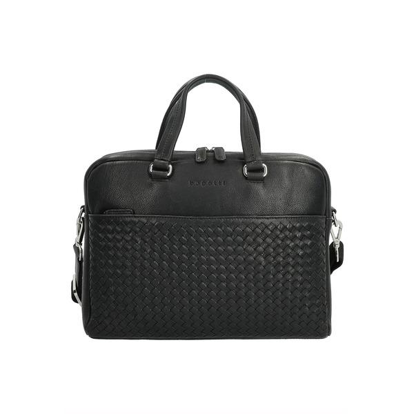 ブガッティ メンズ バッグ 日本正規代理店品 ショルダーバッグ schwarz 安売り gqve0227 - Briefcase 全商品無料サイズ交換