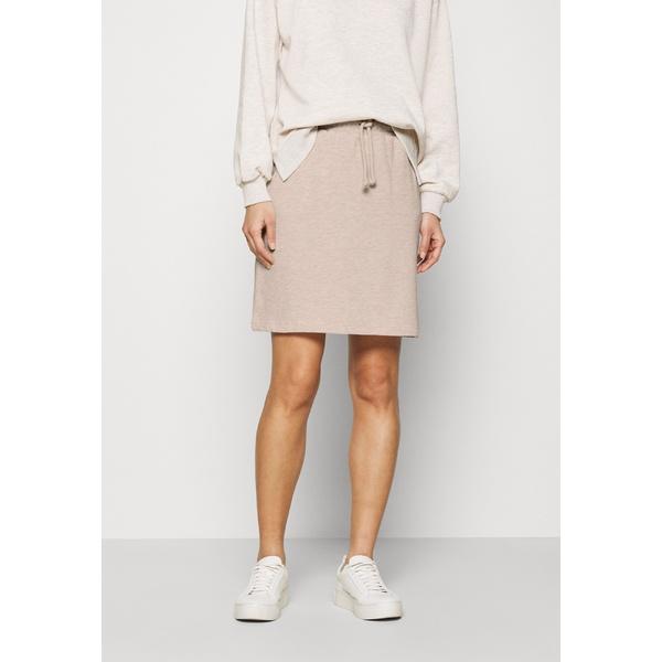 フリークエント レディース ボトムス スカート silver gray 新品未使用 skirt Mini 1年保証 全商品無料サイズ交換 melange - gqve022a