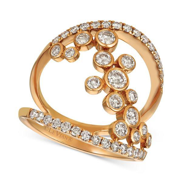 【お気に入り】 ルヴァン レディース リング Rose アクセサリー Diamond ct. Statement Ring (1-1 レディース/4 ct. t.w.) in 14k Rose Gold Rose Gold, シュヴェスター:3358f705 --- greencard.progsite.com