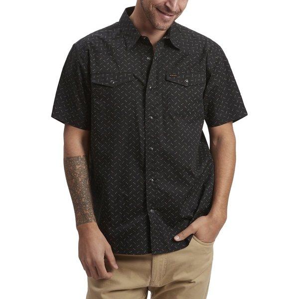 ハウラーブラザーズ メンズ シャツ トップス H Bar B Snap Shirt - Men's Ellipsis Licorice