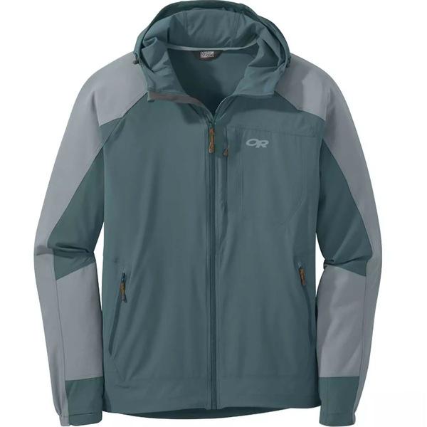 アウトドアリサーチ メンズ ジャケット&ブルゾン アウター Ferrosi Hooded Jacket - Men's Mediterranean/Lead