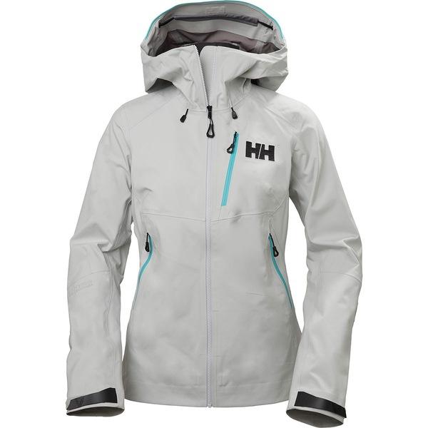 ヘリーハンセン レディース ジャケット&ブルゾン アウター Odin Mountain 3L Shell Jacket - Women's Grey Fog