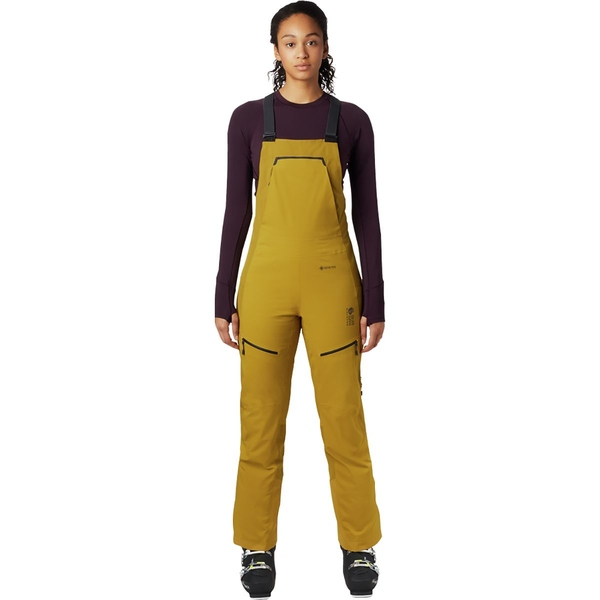 マウンテンハードウェア レディース カジュアルパンツ ボトムス Boundary Line GTX Insulated Bib Pant - Women's Dark Bolt