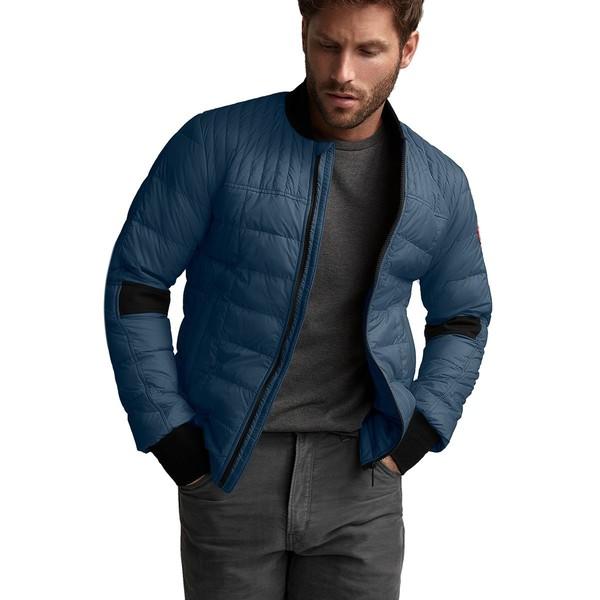 カナダグース メンズ ジャケット&ブルゾン アウター Dunham Down Jacket - Men's Tempest Blue