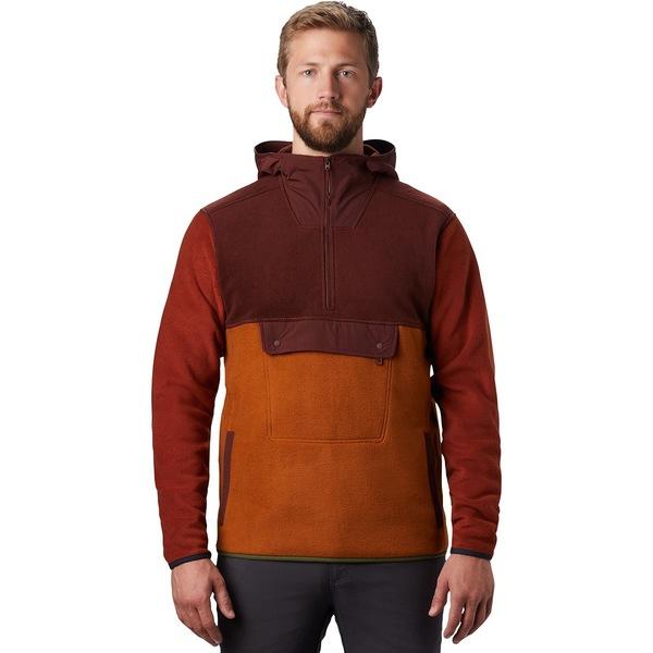 マウンテンハードウェア メンズ ジャケット&ブルゾン アウター UnClassic Fleece Hoodie - Men's Dark Umber
