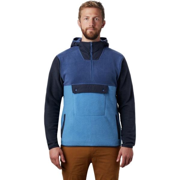 マウンテンハードウェア メンズ ジャケット&ブルゾン アウター UnClassic Fleece Hoodie - Men's Better Blue