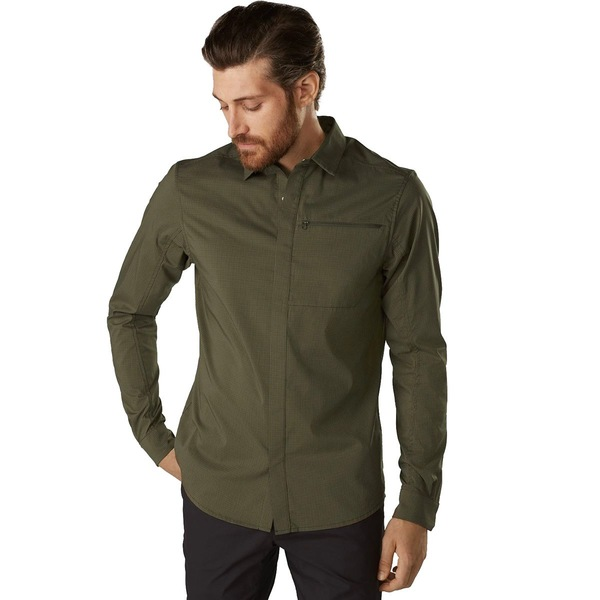 アークテリクス メンズ シャツ トップス Kaslo Long-Sleeve Shirt - Men's Dracaena