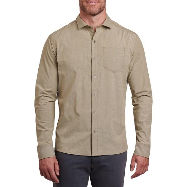 キュール メンズ シャツ トップス Disputr Long-Sleeve Shirt - Men's Spanish Moss