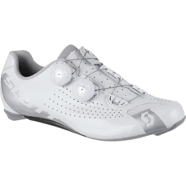 スコット レディース サイクリング スポーツ Road RC Lady Cycling Shoe - Women's Gloss White/Gloss Silver