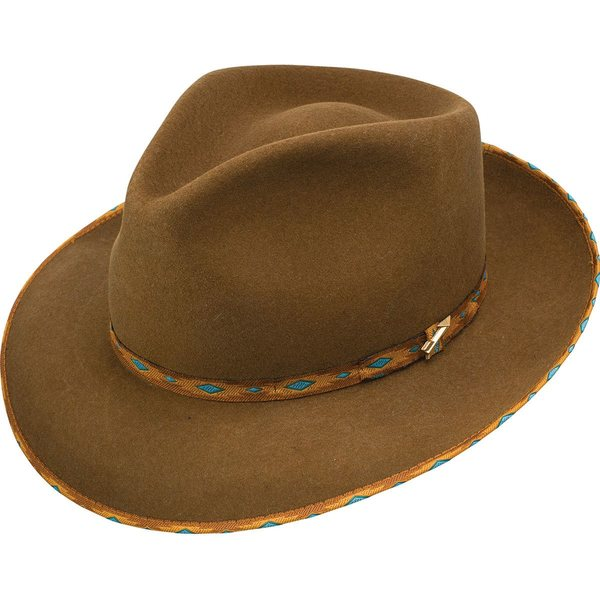 ステトソン メンズ 帽子 アクセサリー Vanguard Hat Cognac