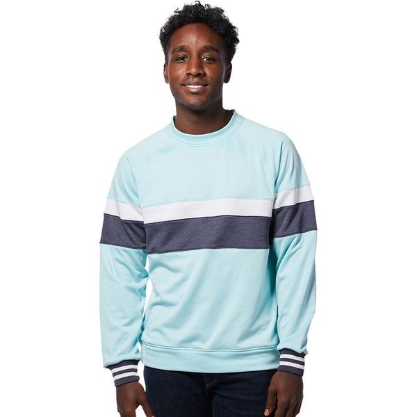コートパクシー メンズ ニット&セーター アウター Bandera Crew Sweatshirt - Men's Glacier Stripes