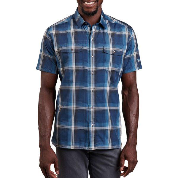 キュール メンズ シャツ トップス Konquer Shirt - Men's Nautical