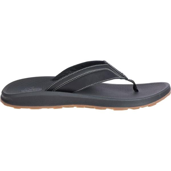 チャコ メンズ サンダル シューズ Playa Pro Leather Flip Flop - Men's Black
