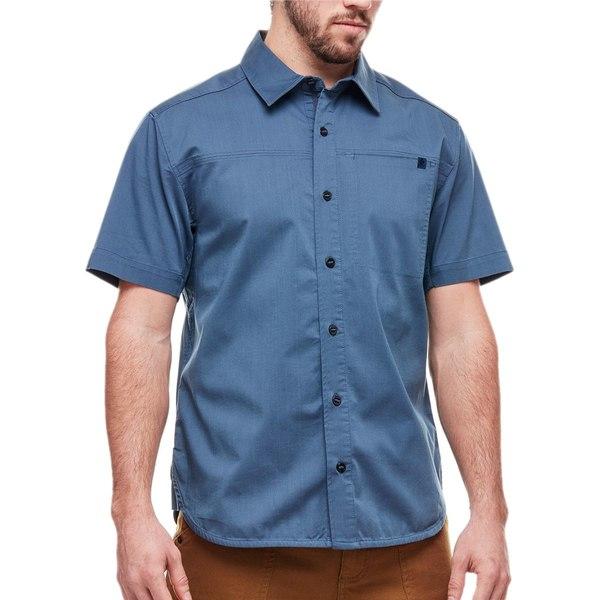 ブラックダイヤモンド メンズ シャツ トップス Stretch Operator Shirt - Short-Sleeve - Men's Astral Blue