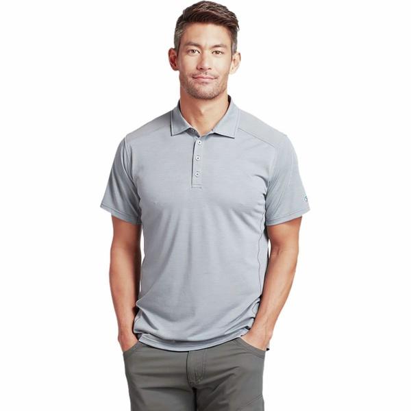 キュール メンズ シャツ トップス Virtuoso Polo Shirt - Men's Slate