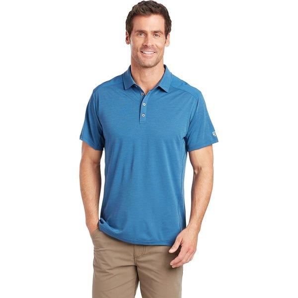 キュール メンズ シャツ トップス Virtuoso Polo Shirt - Men's Neptune