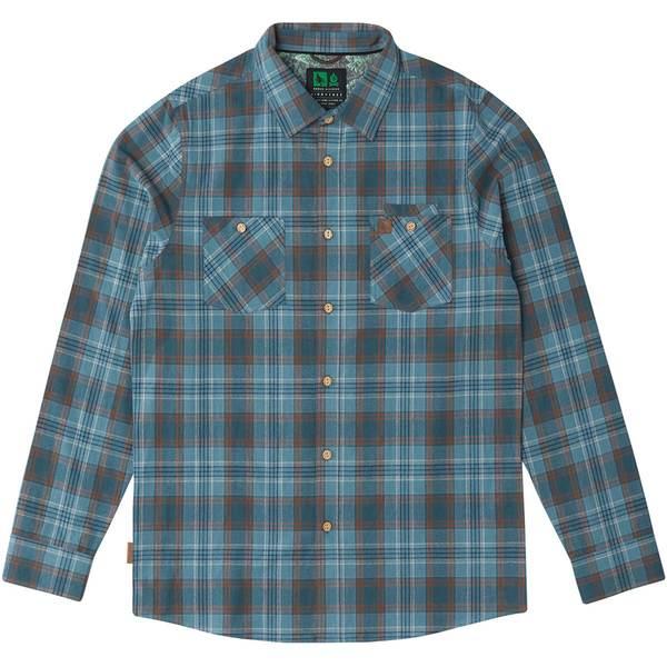 ヒッピーツリー メンズ シャツ トップス Fairing Flannel Shirt - Men's Blue