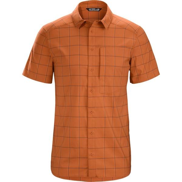 アークテリクス メンズ シャツ トップス Riel Short-Sleeve Button-Up Shirt - Men's Akola
