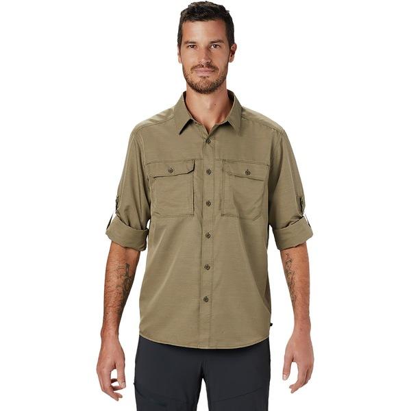 マウンテンハードウェア メンズ シャツ トップス Canyon Long-Sleeve Shirt - Men's Ridgeline