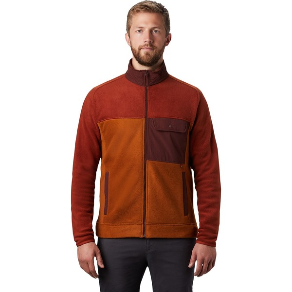 マウンテンハードウェア メンズ ジャケット&ブルゾン アウター UnClassic Fleece Jacket - Men's Rusted
