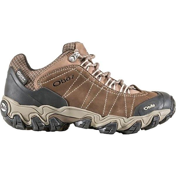 オボズ レディース ハイキング スポーツ Bridger Low B-Dry Hiking Shoe - Women's Walnut