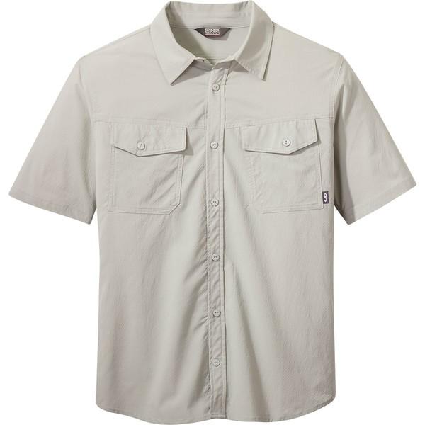 アウトドアリサーチ メンズ シャツ トップス Wanderer Short-Sleeve Shirt - Men's Pebble