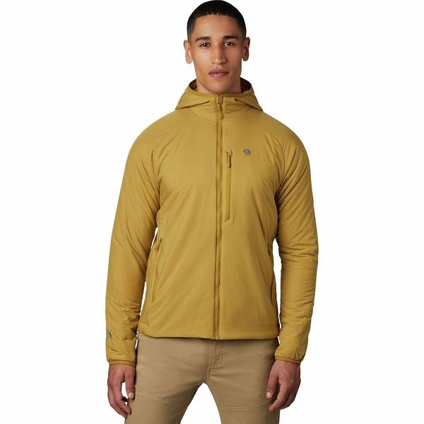 マウンテンハードウェア メンズ ジャケット&ブルゾン アウター Kor Strata Hooded Jacket - Men's Dark Bolt