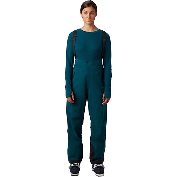 マウンテンハードウェア レディース カジュアルパンツ ボトムス High Exposure GTX C-Knit Bib Pant - Women's Dive