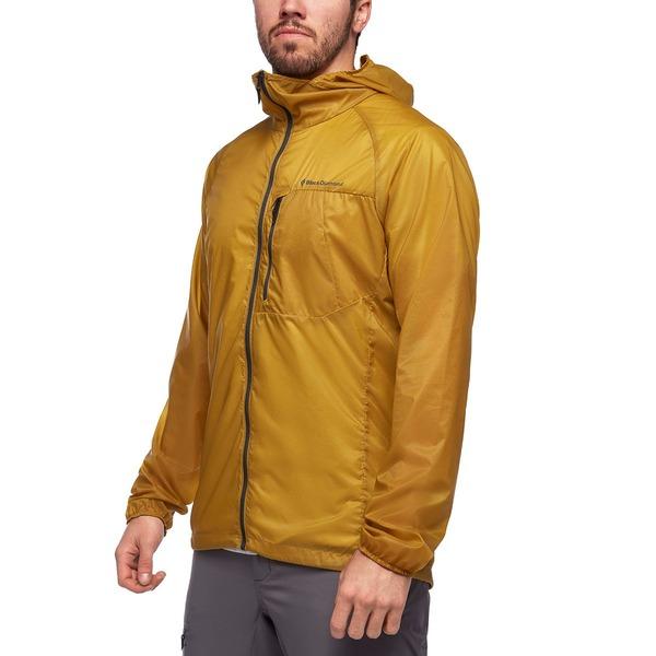 ブラックダイヤモンド メンズ ジャケット&ブルゾン アウター Distance Wind Shell Jacket - Men's Sulphur