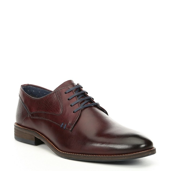 スティーブ マデン メンズ マデン ドレスシューズ シューズ Men's Burgundy Men's Nikko Plain Toe Leather Oxford Burgundy, 癒し工房:e253c355 --- wap.assoalhopelvico.com