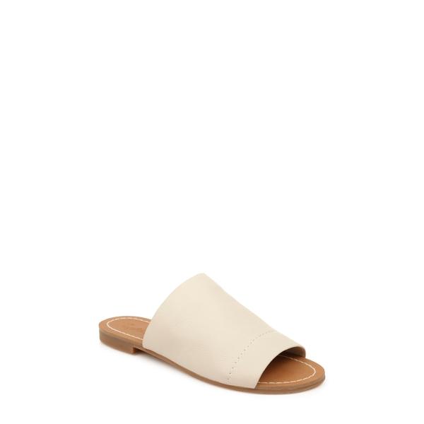 スプレンディット レディース サンダル シューズ Mavis Slide Sandal Eggshell Leather