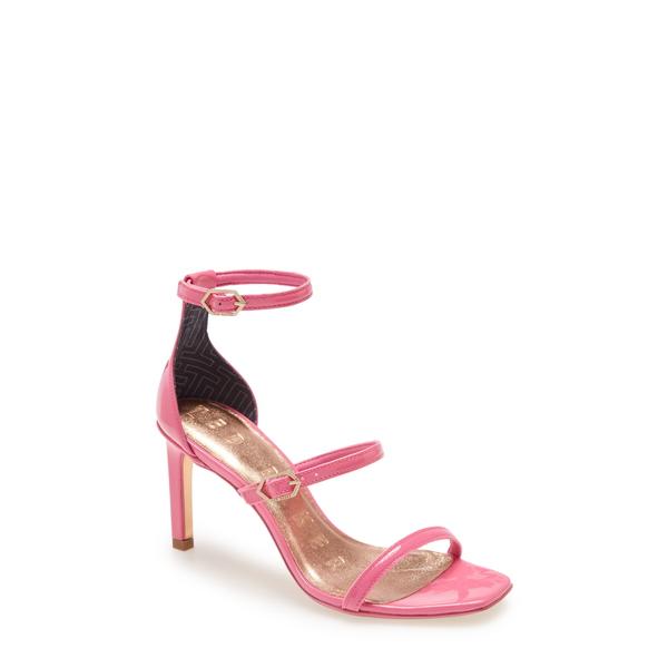 テッドベーカー レディース サンダル シューズ Triap Strappy Square Toe Sandal Pink