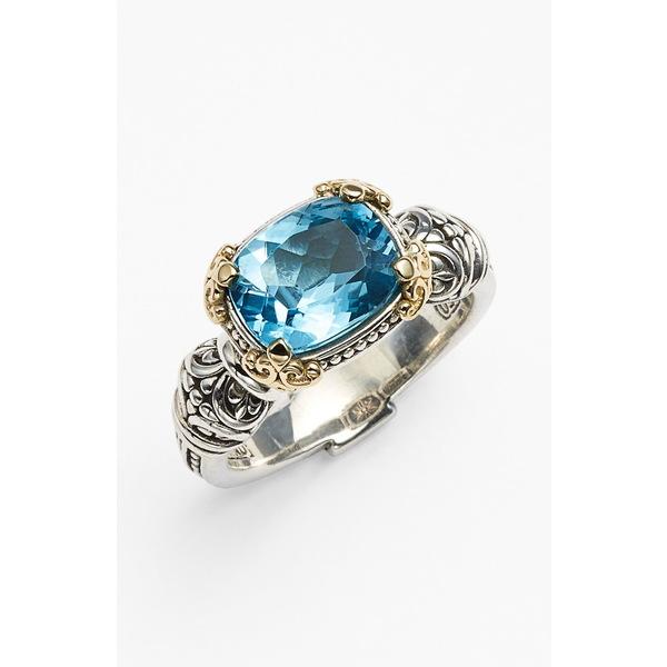 コンスタンティーノ レディース リング アクセサリー Hermione Stone Ring Silver/ Blue Topaz