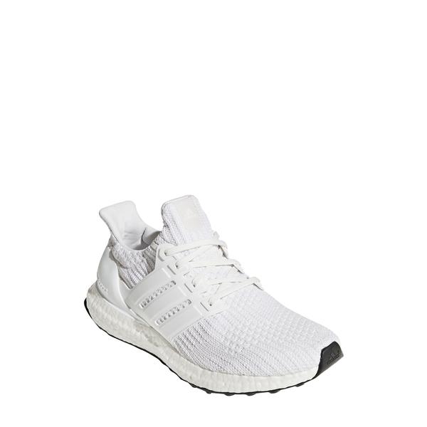 アディダス メンズ スリッポン・ローファー シューズ UltraBoost Running Shoe White/ White/ White