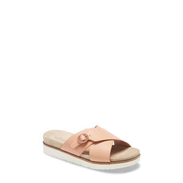 ケンジー レディース サンダル シューズ Delicah Slide Sandal Peach Canvas