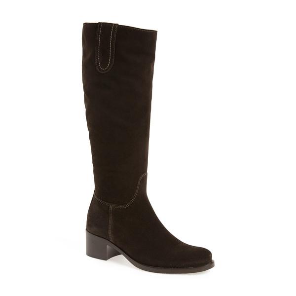 ラカナディアン レディース ブーツ&レインブーツ シューズ 'Polly' Waterproof Knee High Boot Brown Suede