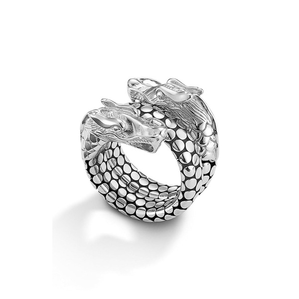 ジョン・ハーディー レディース リング アクセサリー 'Legends' Dragon Coil Ring Sterling Silver