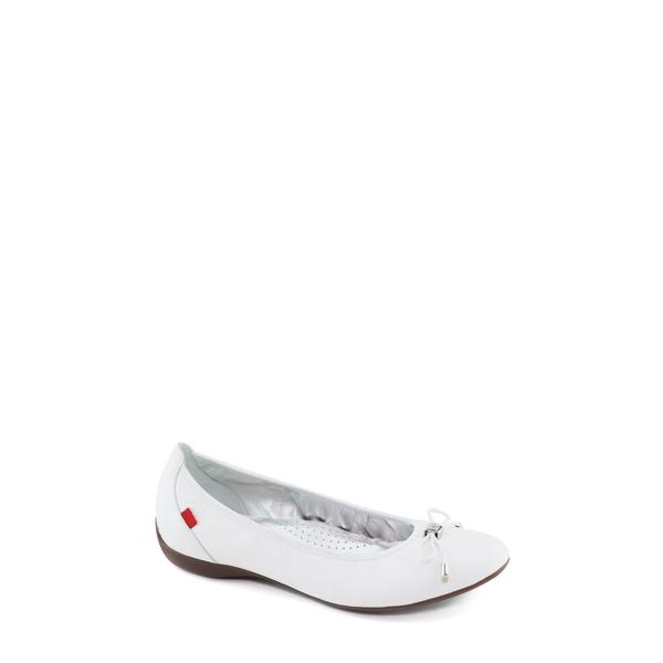 マークジョセフニューヨーク レディース サンダル シューズ Riedel Avenue Skimmer Flat White Leather