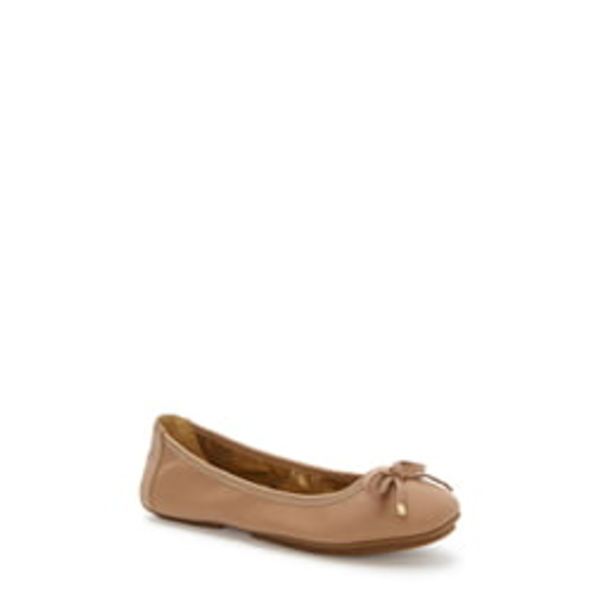 ミートゥー レディース サンダル シューズ 'Halle 2.0' Ballet Flat Driftwood Nappa Leather