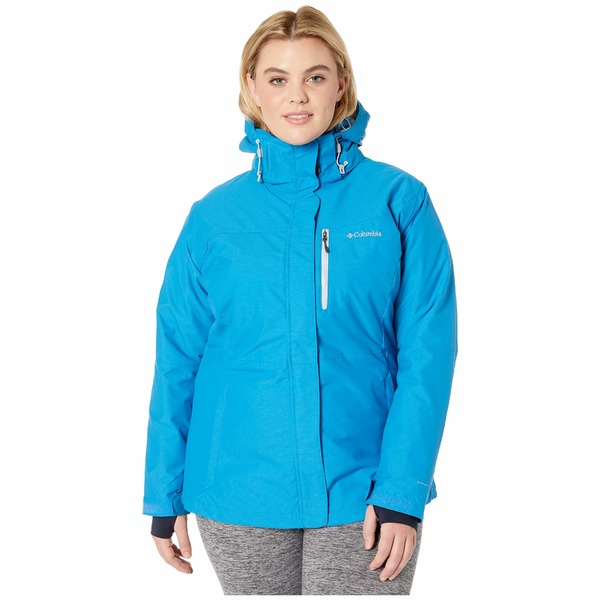 コロンビア レディース コート アウター Plus Size Alpine Action Omni-Heat Jacket Fathom Blue