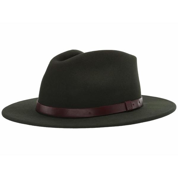 ブリクストン メンズ アクセサリー 帽子 新生活 Fedora 驚きの値段で Messer 全商品無料サイズ交換 Moss