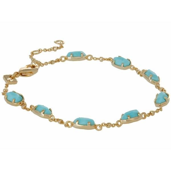 ケンドラスコット レディース アクセサリー ブレスレット バングル アンクレット Gold 全国どこでも送料無料 Link Bracelet Blue Light Magnesite 新作アイテム毎日更新 Emilie 全商品無料サイズ交換