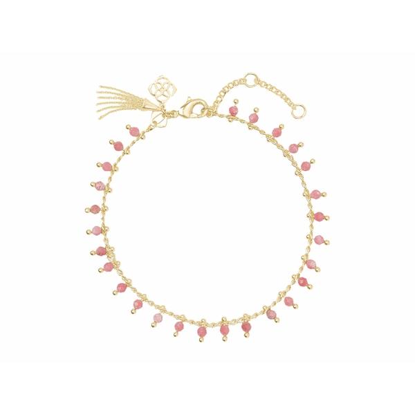 ケンドラスコット レディース アクセサリー 購買 ブレスレット バングル アンクレット Gold Delicate 低価格 Pink Jenna 全商品無料サイズ交換 Bracelet Rhodonite