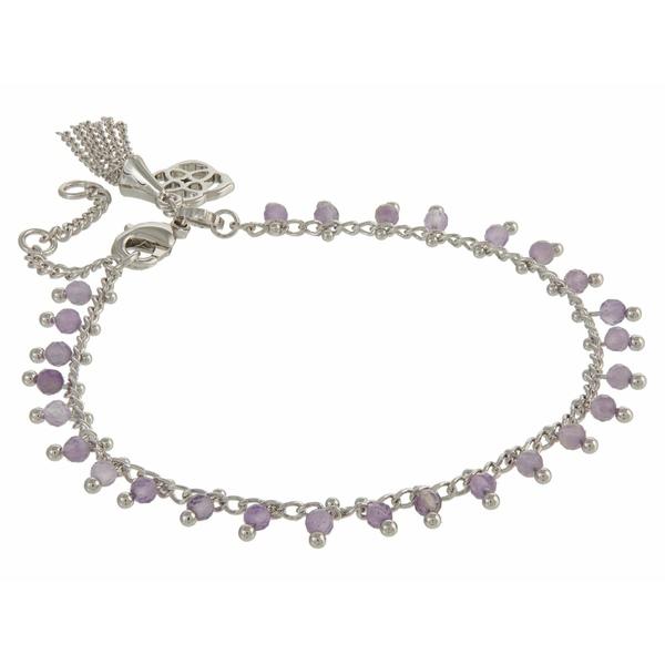 ケンドラスコット レディース アクセサリー ブレスレット バングル アンクレット Rhodium Amethyst スーパーセール期間限定 Jenna Delicate Purple 全商品無料サイズ交換 100%品質保証 Bracelet