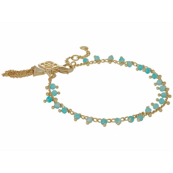ケンドラスコット レディース アクセサリー ブレスレット バングル 18%OFF アンクレット Gold Teal Jenna Amazonite Delicate ランキングTOP5 全商品無料サイズ交換 Bracelet