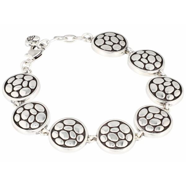 ブライトン レディース アクセサリー ブレスレット バングル アンクレット Pebble 全商品無料サイズ交換 Link 毎日激安特売で 希望者のみラッピング無料 営業中です Round Silver Bracelet