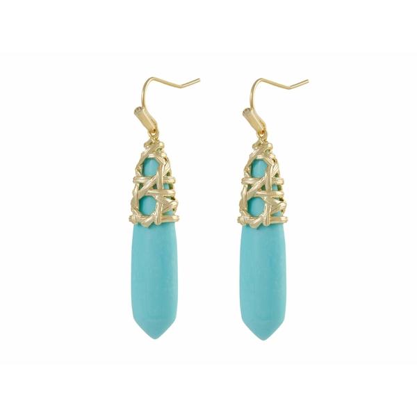 ケンドラスコット レディース アクセサリー ピアス イヤリング Gold Light Magnesite Drop Blue お買い得 Natalie 全商品無料サイズ交換 在庫あり Earrings